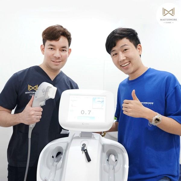 hifu mmfu hifu ที่ดีที่สุด เห็นผลชัดสุด masterwork clinic00021